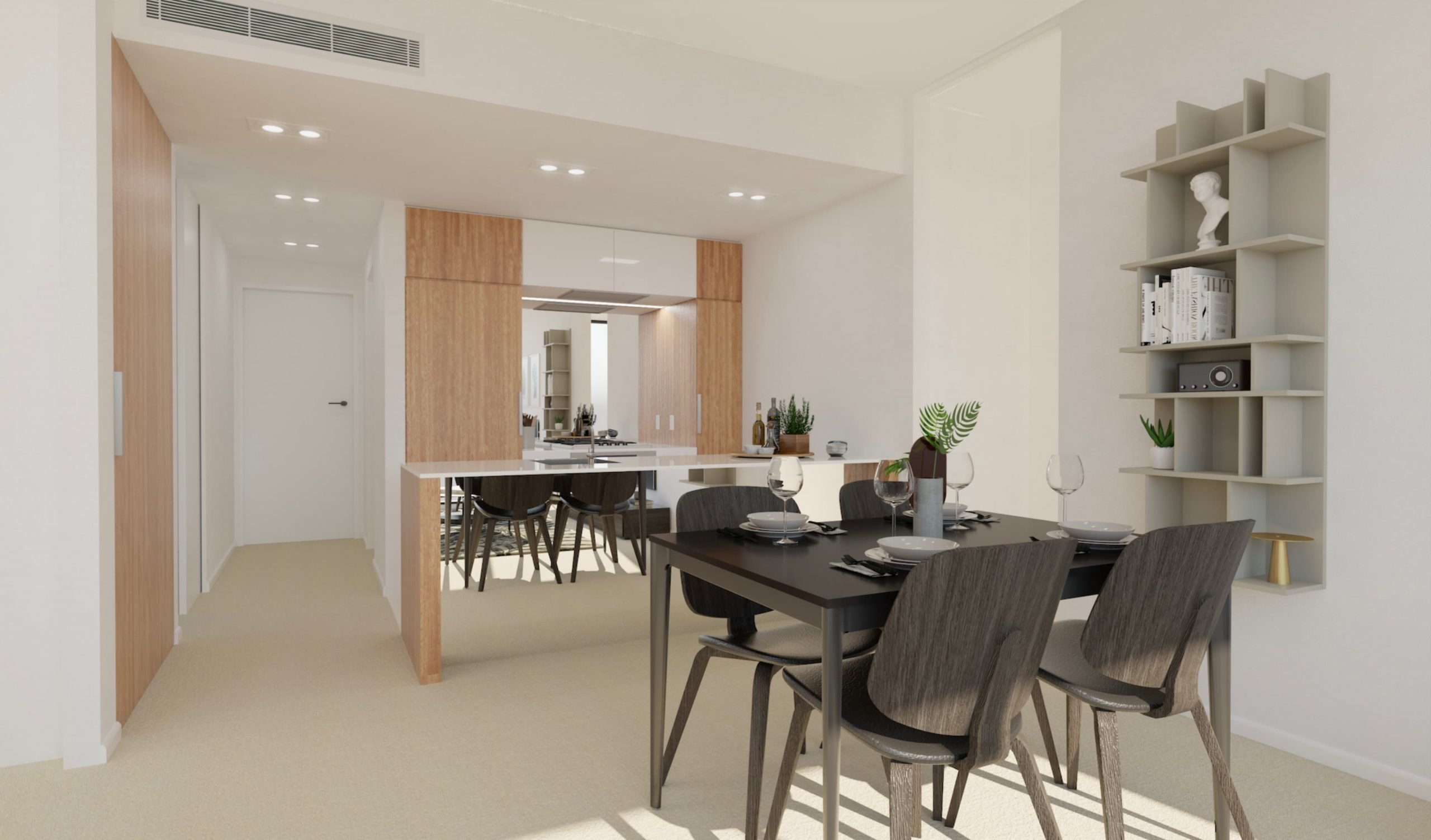 12/12 Dining Room, Loft, Design Package