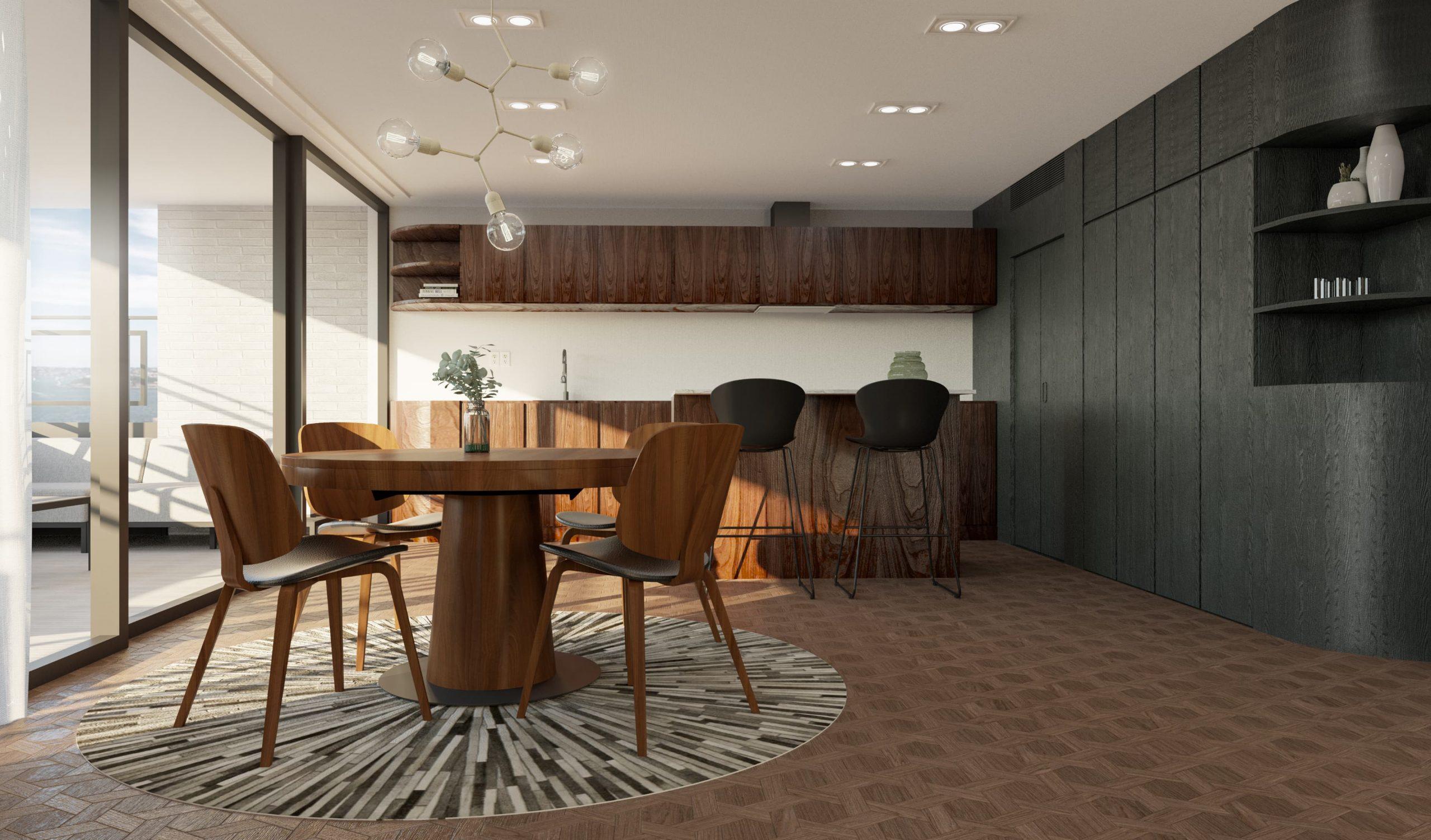 8/12 Dining Room, Loft, Design Package