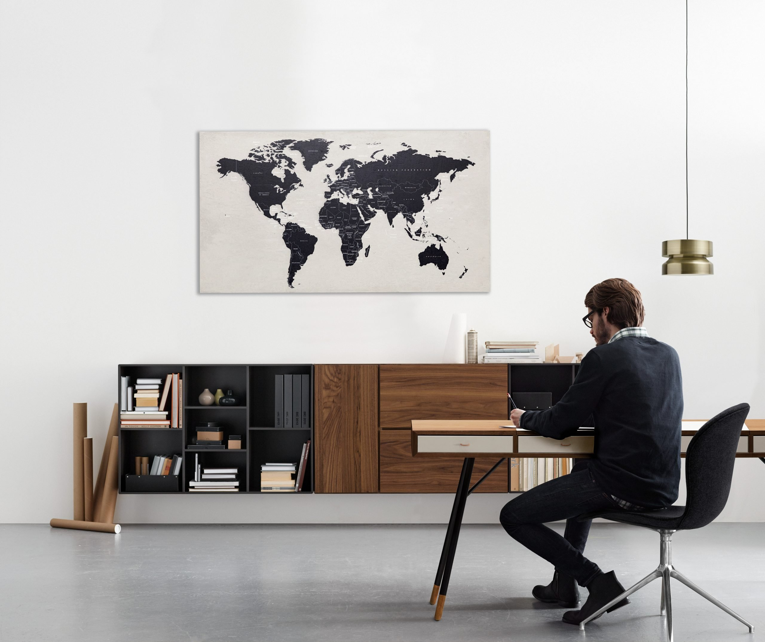 BoConcept Desk with Man Headspace