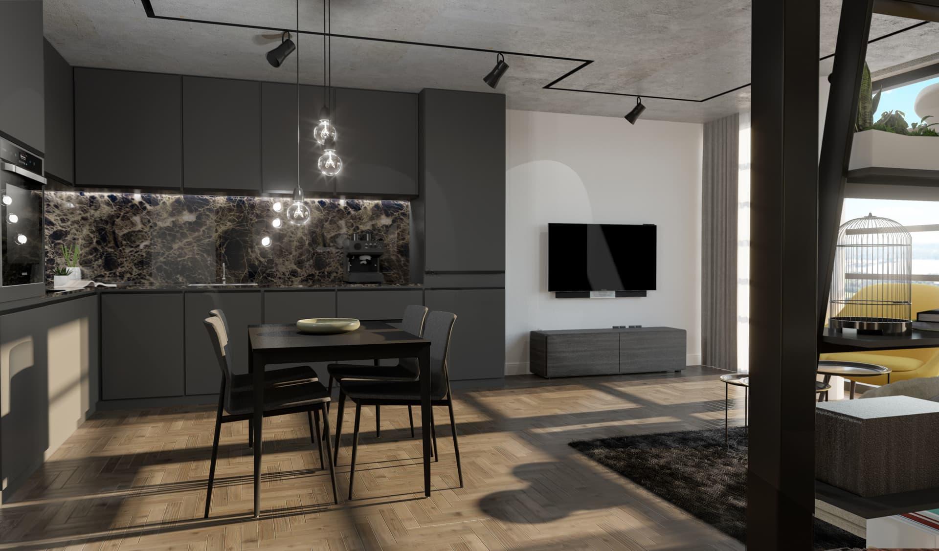 2/12 Dining Room, Loft, Design Package