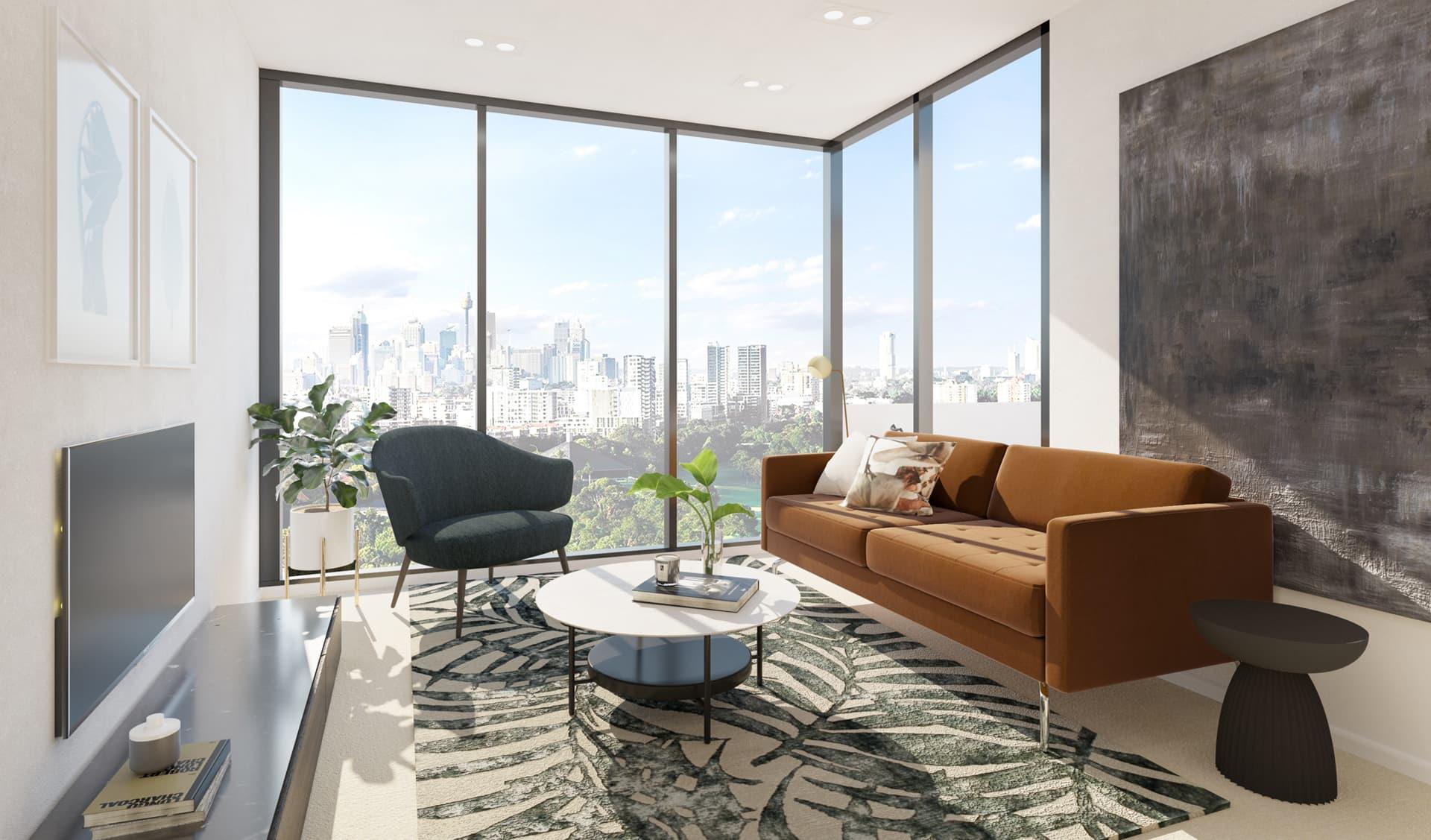11/12 Living Room, Loft, Design Package