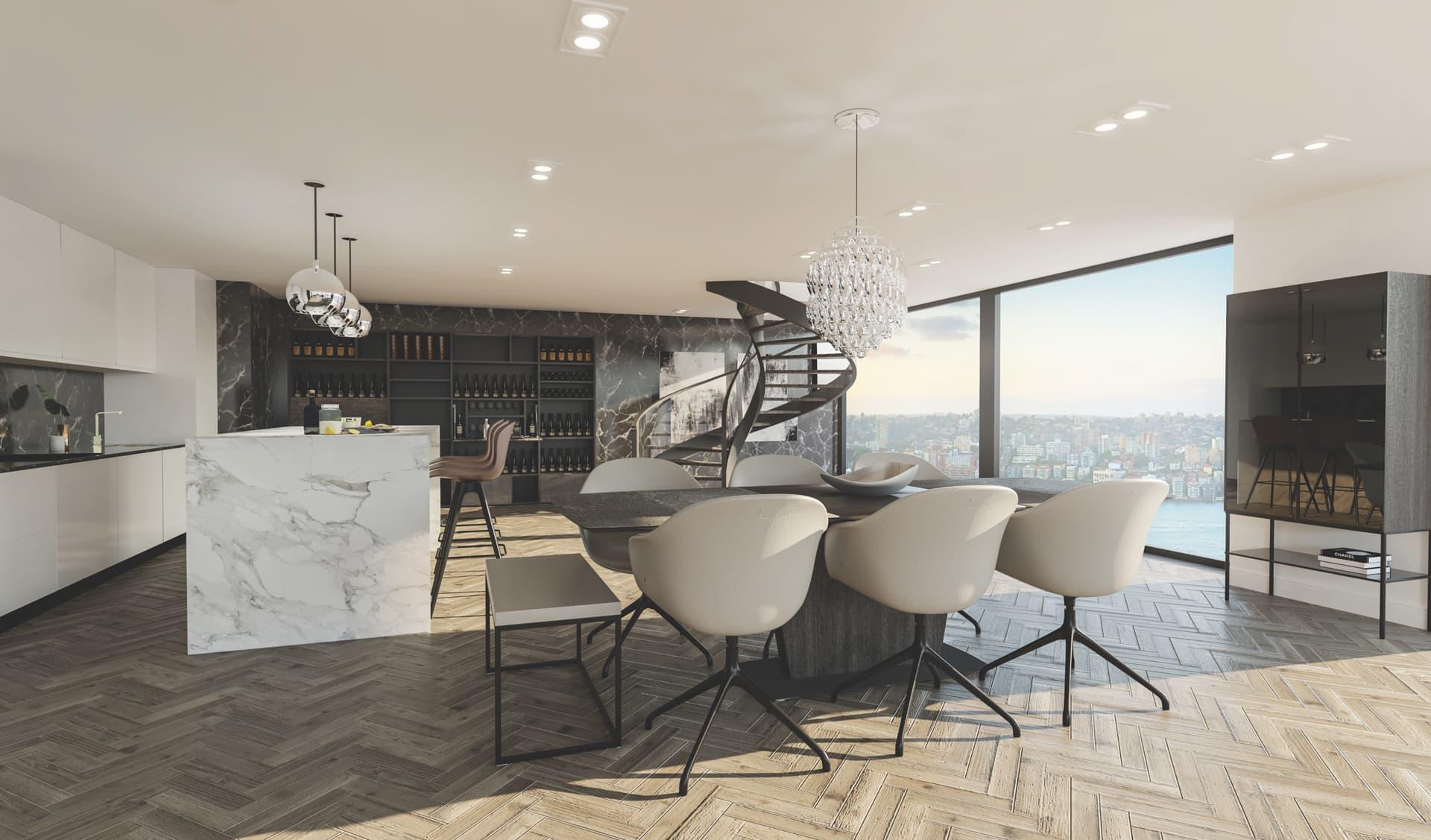 4/12 Dining Room, Loft, Design Package
