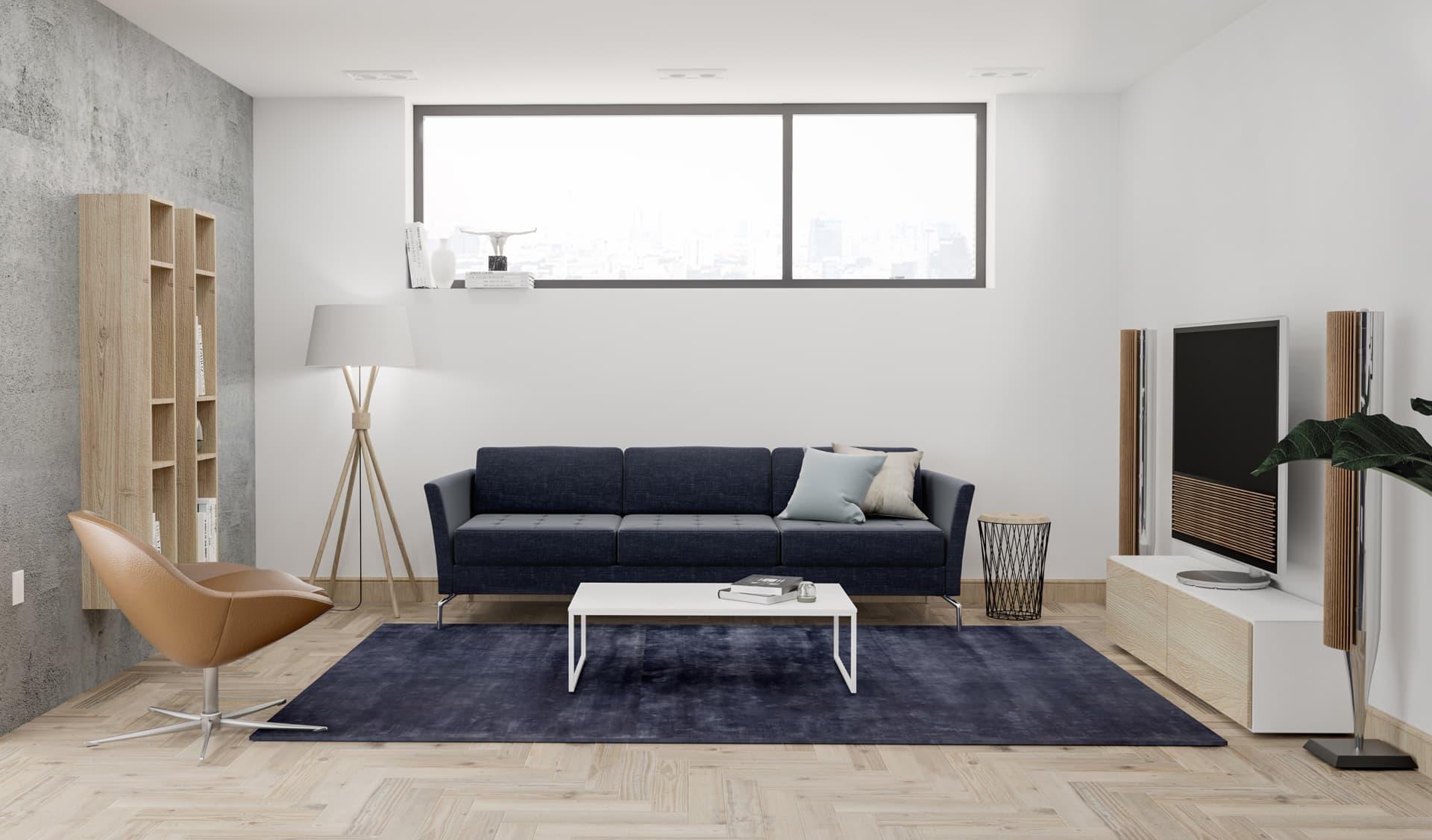 5/12 Living Room, Loft, Design Package