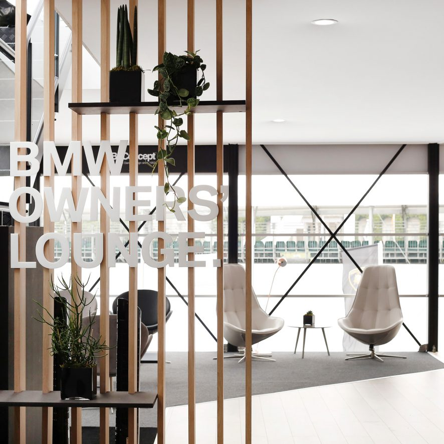 BMW Owners Hospitality Lounge by BoConcept